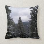 Invierno en los Rockies Cojin