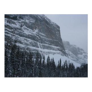 Invierno en los Rockies Postal