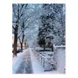 Invierno en Montreal Postal