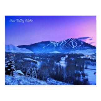 Invierno en Sun Valley Idaho Postal
