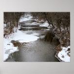 Invierno en The Creek Posters