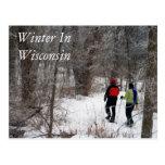 Invierno en Wisconsin Tarjetas Postales