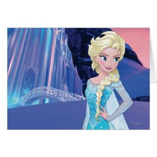 Invierno eterno de Elsa el | Tarjeta De Felicitación