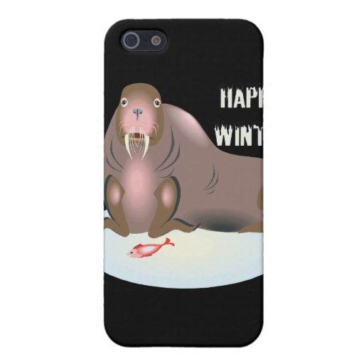 Invierno feliz 3 iPhone 5 cárcasa