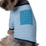 Invierno floral ropa de perros