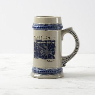 Invierno fresco travieso jarra de cerveza
