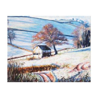 Invierno Frost 2009 Impresión En Lienzo