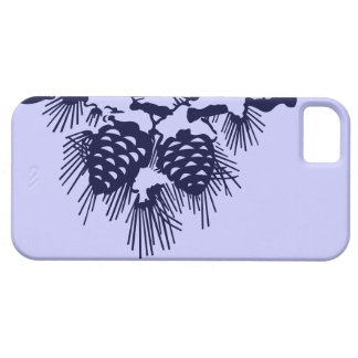 Invierno Funda Para iPhone 5 Barely There