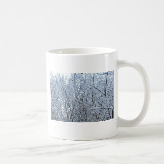invierno irlandés septentrional raro taza básica blanca