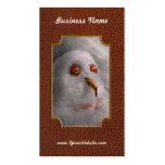 Invierno - muñeco de nieve - cuáles son usted que  tarjetas de visita