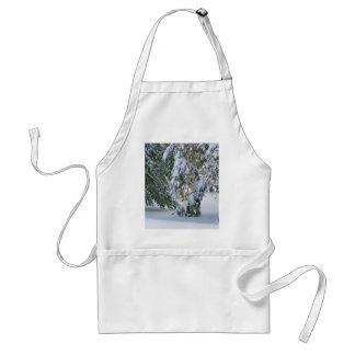 Invierno Nevado Delantal