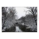 Invierno Nevado Felicitación