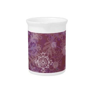 Invierno púrpura jarra