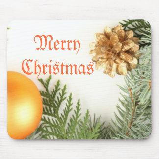 Invierno romántico de lujo Mousepad del navidad Alfombrillas De Raton