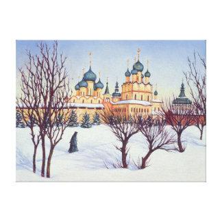 Invierno ruso 2004 impresión en lienzo