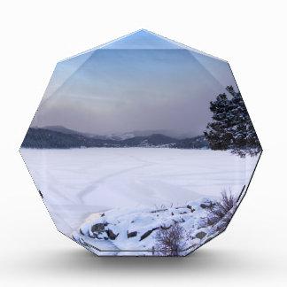 Invierno Secnic del depósito de Nederland Colorado