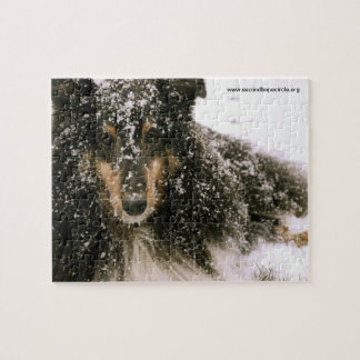 Invierno Sheltie Puzzles