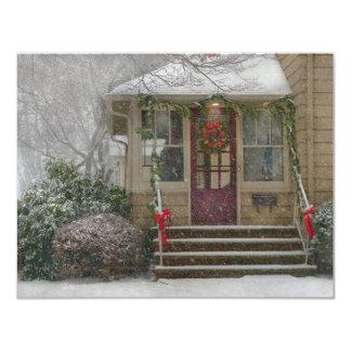 Invierno - soñando con navidad blanco comunicado personal