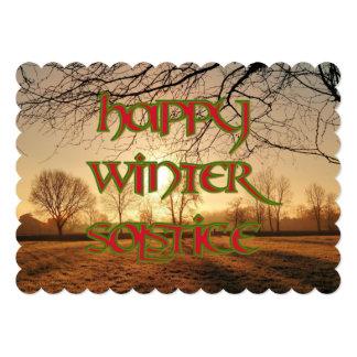Invierno Sun: Invitación del solsticio a un