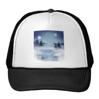 Invierno surrealista gorras
