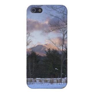 Invierno Vermont de la chepa de los camellos iPhone 5 Funda
