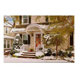 Invierno - Westfield, NJ - es demasiado temprano Perfect Poster