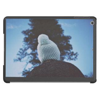 Invierno y casquillo de lana funda para iPad air