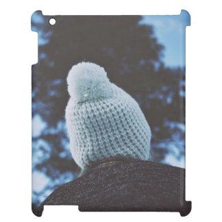 Invierno y casquillo de lana