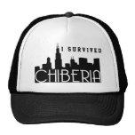 Inviernos de Chicago también conocidos como ChiBer Gorros Bordados
