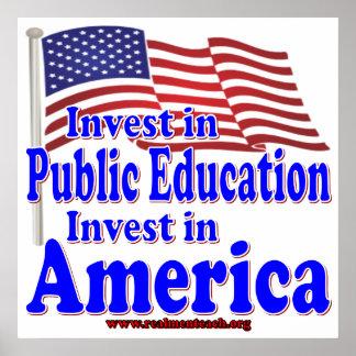 Invierta en la enseñanza pública impresiones