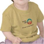 Invierta en mi futuro - engranaje de Obama Camisetas