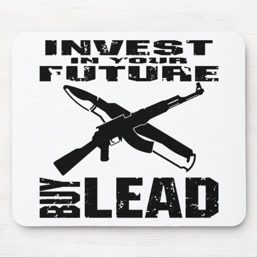 Invierta en su ventaja futura de la compra (AK47) Mousepad