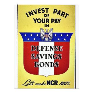 Invierta la parte de su paga en enlaces de ahorros tarjeta publicitaria