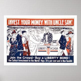 Invierta su dinero con tío Sam Impresiones