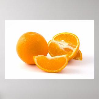 Invigorating Slice Of Life Oranges Posters