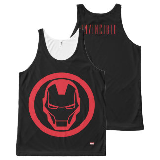 Invincible Iron Man All-Over-Print Tank Top