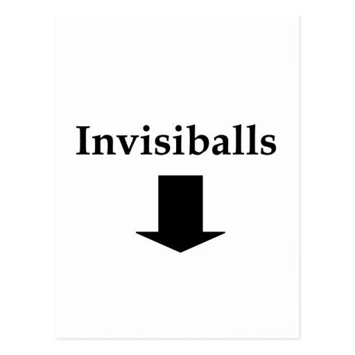 Invisiballs #2 postal
