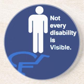Invisible Disability Coaster