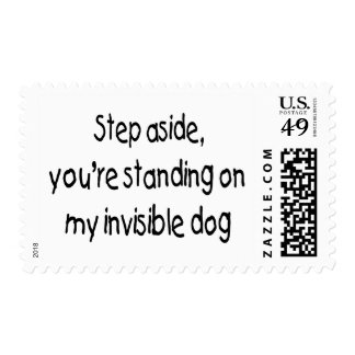 Invisible Dog Stamp