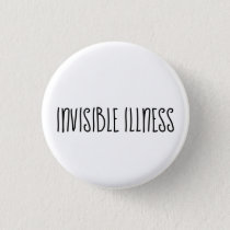 Invisible illness awareness button