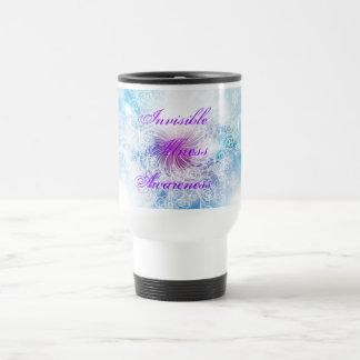 Invisible Illness Awareness Travel Coffee Mug