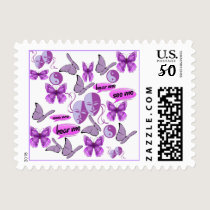 Invisible Illness Collage Postage