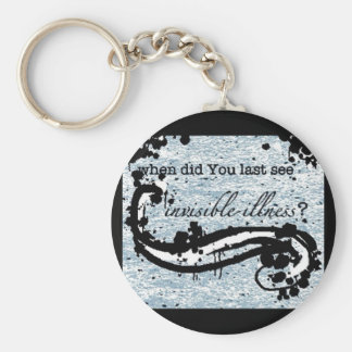 invisible illness keychain