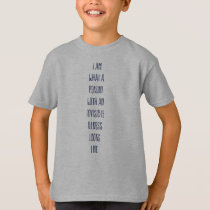 Invisible Illness kids tshirt