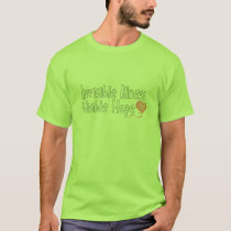 Invisible Illness Shirt (Colored)