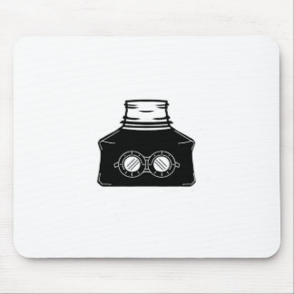 Invisible Ink Bottle Mouse Pad