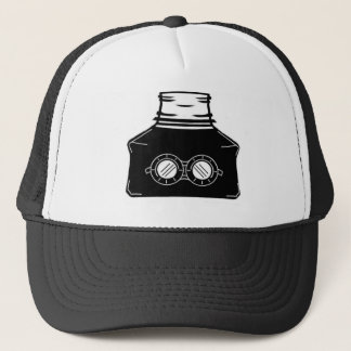 Invisible Ink Bottle Trucker Hat