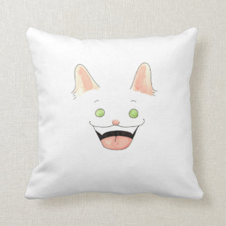 Invisible Lupin throw pillow