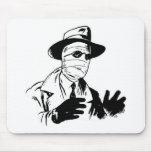 Invisible Man Monster Mouse Pad