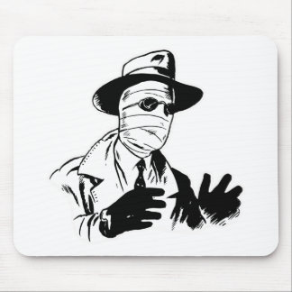 Invisible Man Monster Mouse Pads